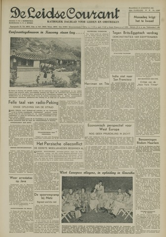 Leidse Courant 1951-08-27