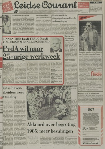 Leidse Courant 1984-08-25