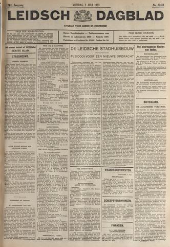 Leidsch Dagblad 1933-07-07