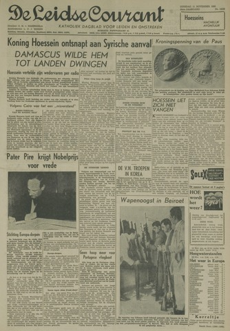 Leidse Courant 1958-11-11