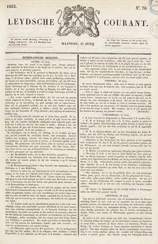 Leydse Courant 1853-06-13