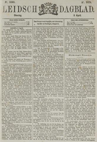 Leidsch Dagblad 1878-04-09