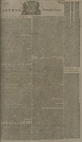 Leydse Courant 1743-04-03