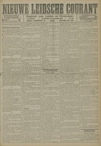Nieuwe Leidsche Courant 1921-10-29