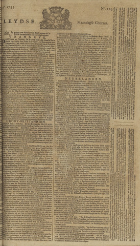 Leydse Courant 1755-10-27