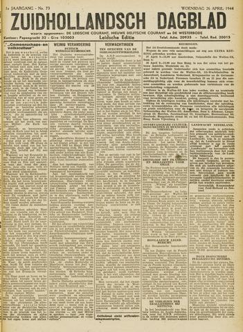 Zuidhollandsch Dagblad 1944-04-26