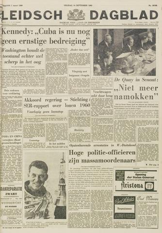 Leidsch Dagblad 1962-09-14