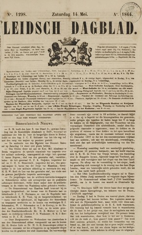 Leidsch Dagblad 1864-05-14