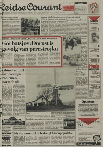 Leidse Courant 1988-11-26