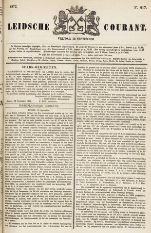Leydse Courant 1872-09-13
