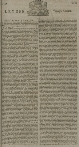 Leydse Courant 1727-03-07