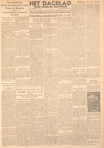 Dagblad voor Leiden en Omstreken 1944-02-15
