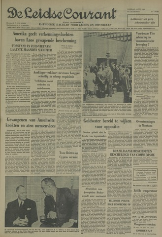 Leidse Courant 1964-06-09