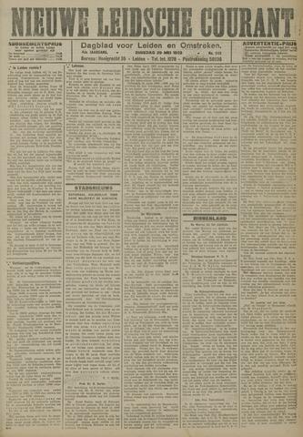Nieuwe Leidsche Courant 1923-05-29