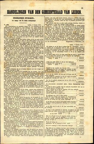 Handelingen van de Raad 1873-10-06