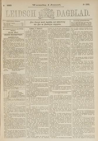 Leidsch Dagblad 1893-01-04