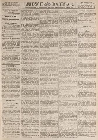 Leidsch Dagblad 1919-02-26