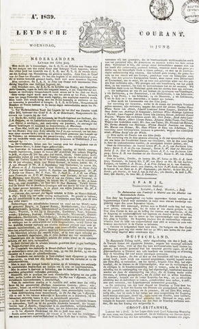 Leydse Courant 1839-06-12