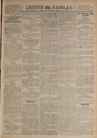 Leidsch Dagblad 1920-11-13