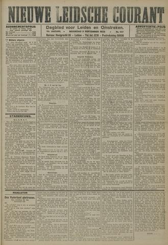 Nieuwe Leidsche Courant 1923-09-03