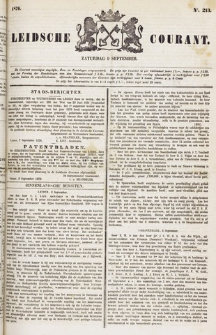 Leydse Courant 1876-09-09