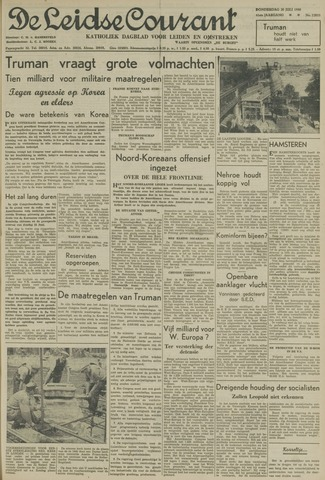 Leidse Courant 1950-07-20