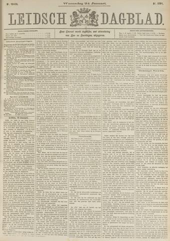 Leidsch Dagblad 1894-01-24