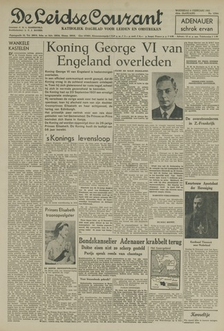Leidse Courant 1952-02-06