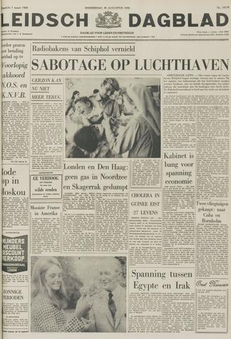 Leidsch Dagblad 1970-08-20