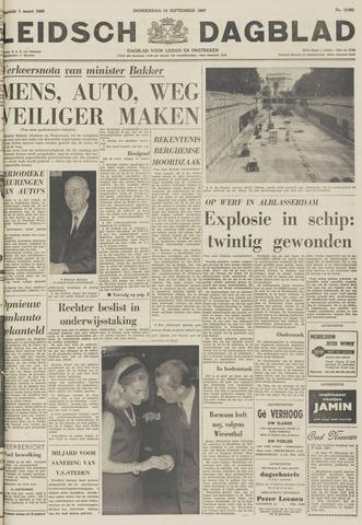 Leidsch Dagblad 1967-09-14