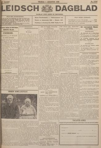Leidsch Dagblad 1930-08-01