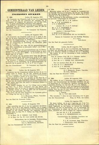 Handelingen van de Raad 1911-08-23