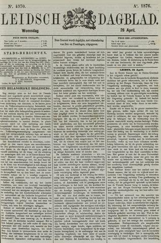 Leidsch Dagblad 1876-04-26