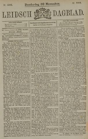 Leidsch Dagblad 1882-11-30