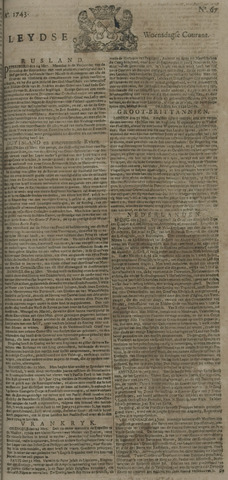 Leydse Courant 1743-06-05