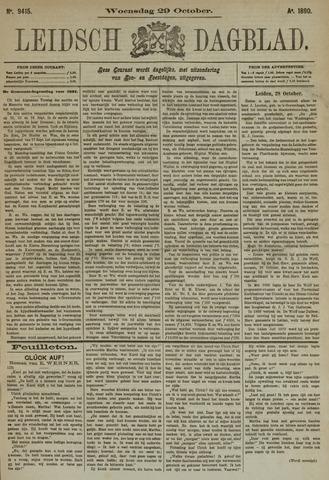Leidsch Dagblad 1890-10-29