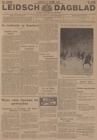 Leidsch Dagblad 1940-10-12