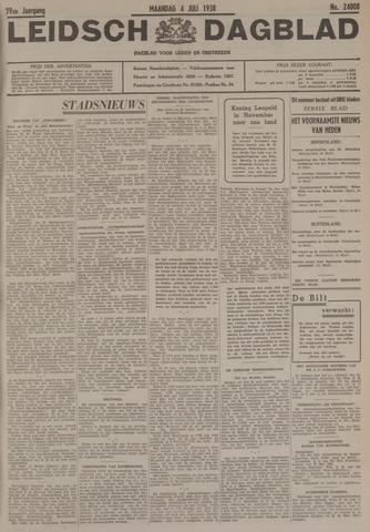 Leidsch Dagblad 1938-07-04