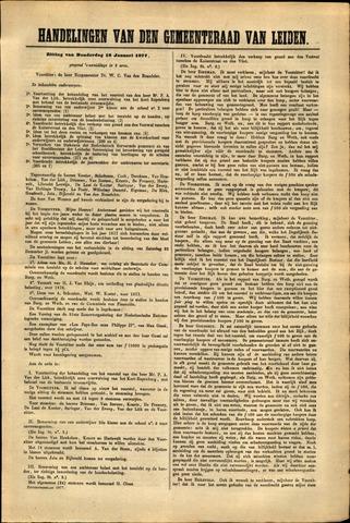 Handelingen van de Raad 1877-01-18