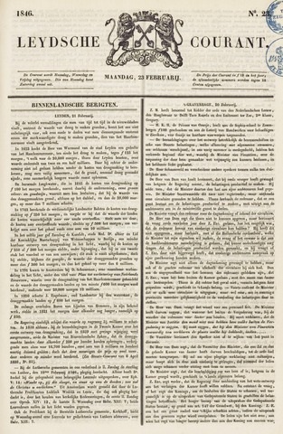 Leydse Courant 1846-02-23