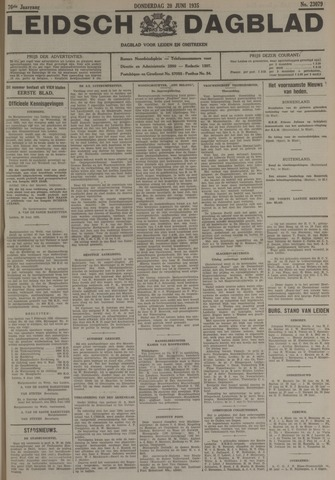 Leidsch Dagblad 1935-06-20