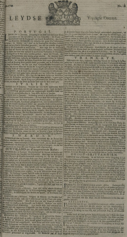 Leydse Courant 1729-02-11