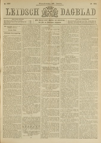 Leidsch Dagblad 1904-03-10