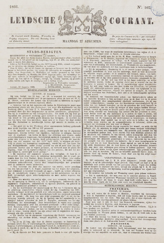 Leydse Courant 1866-08-27