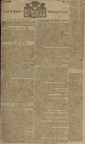 Leydse Courant 1766-12-29