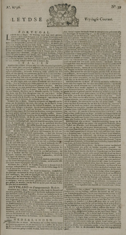 Leydse Courant 1736-03-30