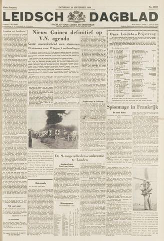 Leidsch Dagblad 1954-09-25