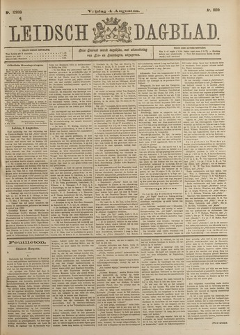 Leidsch Dagblad 1899-08-04