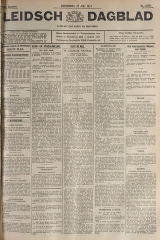 Leidsch Dagblad 1933-07-27