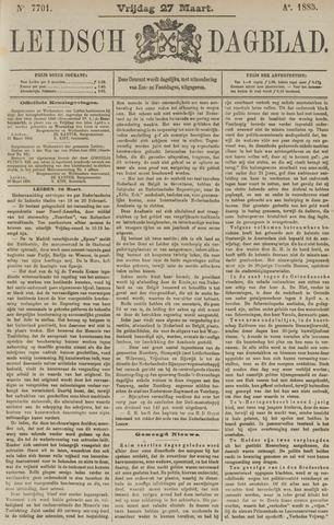 Leidsch Dagblad 1885-03-27